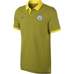 Men's Manchester City FC Polo YELLOW 2016 - 2017