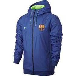Coupe-Vent FC Barcelone bleu 2016-2017