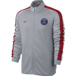 Men's Paris Saint-Germain N98 Track Jacket BLACK OR GREY 2016 - 2017