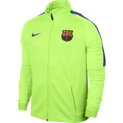 Men's Nike Dry FC Barcelona Strike Jacket GREEN 2016 - 2017