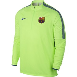 Sweat Zippé FC Barcelone Technique vert 2016 - 2017