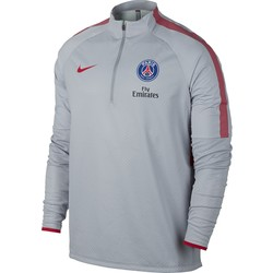 Sweat Zippé PSG technique gris 2016 - 2017