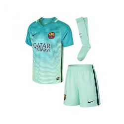 Kit Third junior FC Barcelone 2016 - 2017