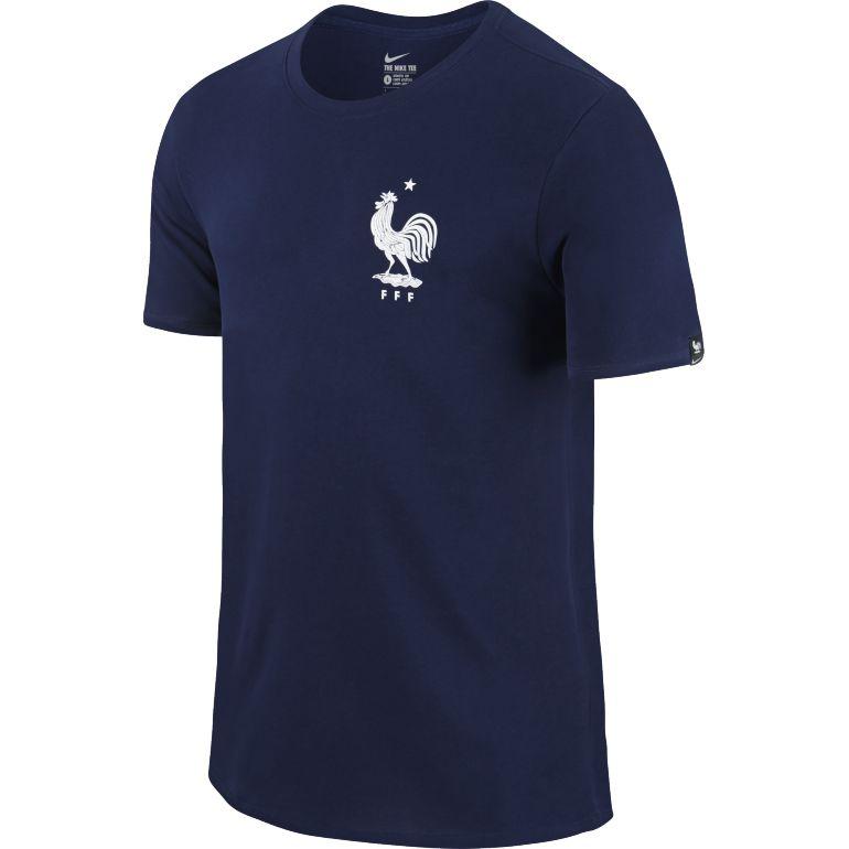 T-shirt équipe de France bleu 2016
