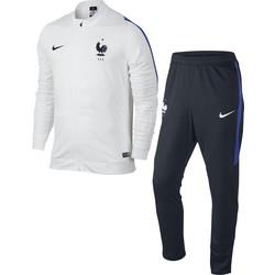 Ensemble survêtement Equipe de France FFF blanc 2016