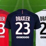 Soldes Foot : le maillot PSG floqué Draxler à prix canon !