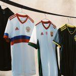 Nouveaux maillots extérieur nations adidas