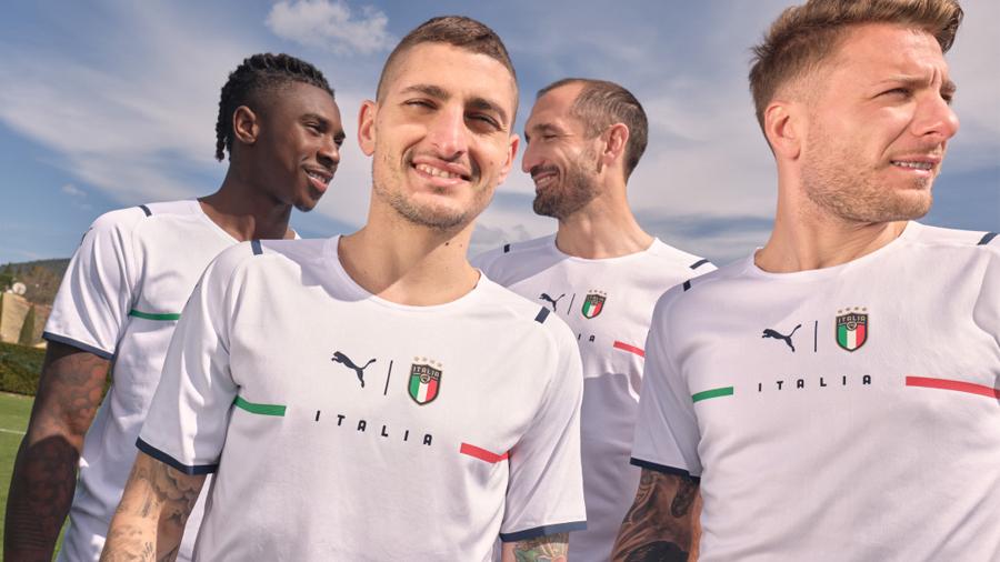 Nouveaux maillots nations Puma pour l'Euro