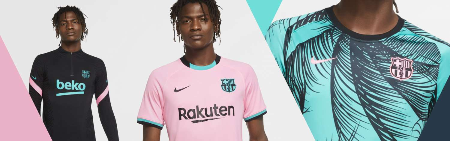 Collection FC Barcelone Third 2020/21